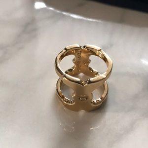 New Tory Burch Gemini link ring
